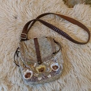 Fossil cross body purse